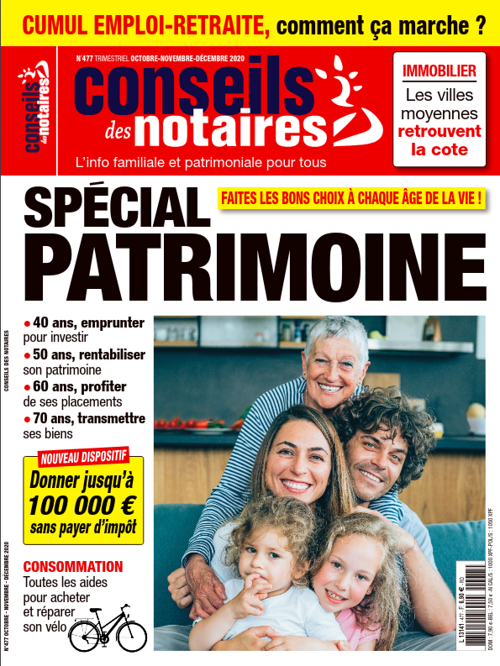 N°477 Trimestriel OCTOBRE-NOVEMBRE-DÉCEMBRE 2020